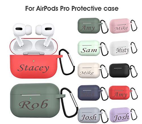 ANL Airpod Pro Silicone case Engraved Airpod Pro Silicone Case Name Airpod Pro Case Airpod Pro Case