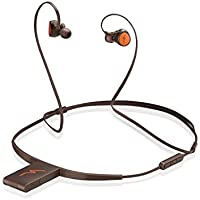 VONTER 8GB MP3 Player with Bluetooth Headphones,Bluetooth Wireless Sports Headset,Running In-EAR Sweatproof Earbuds - Stereo Bass - Noise Isolation - Coffee