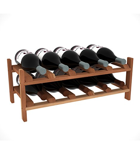 Creekside Magnum 10 Bottle Modular Wine Shelf, 12