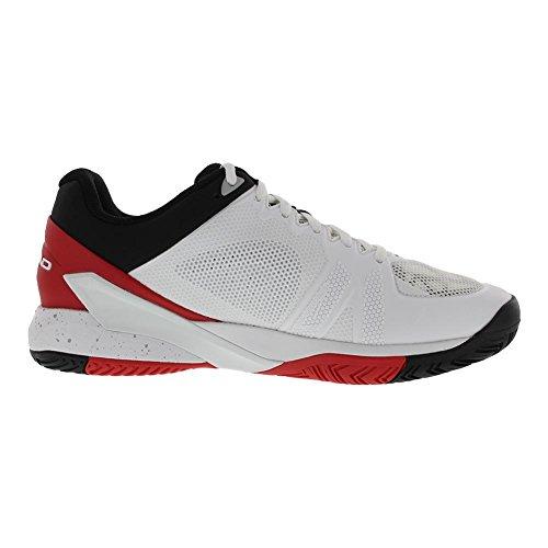 Chaussures De Tennis Pour Hommes Revolt Pro 2.5 (bleu / Flamme Orange) Blanc Et Rouge