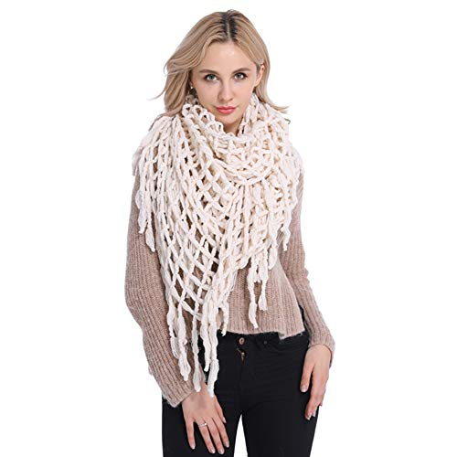Women Knit Infinity Scarf Circle Loop Thick Neck Warm Scarf Gifts Mom