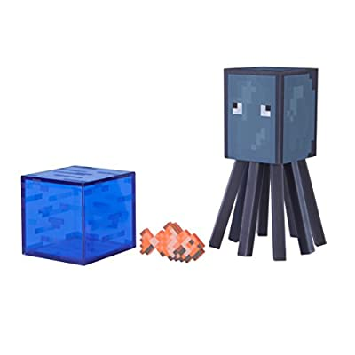 Minecraft Series 3 Action Figure (3 Inch) Squid by Jazwares
