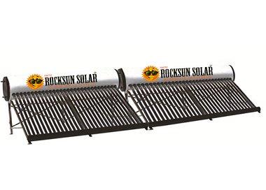Rocksunsolar Solar Water Heater - 500 Liters Etc(250 Lpd x 2NosS)