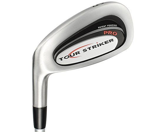Tour Striker Men's Pro 5 Iron Golf Club (Left Handed, Stiff, Steel Shaft)
