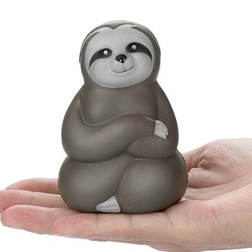 FarJing Squishy Toy Adorable Soft Sloth Slow Rising Fruit Scented Stress Relief Toys Gifts ()