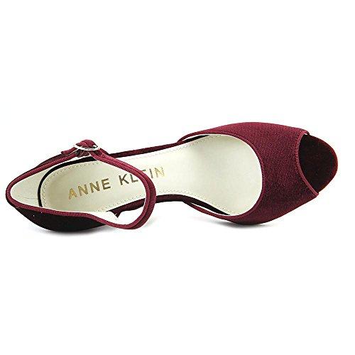 Anne Klein Womens henrika Fabric Dress Pump Wine/Wine o6VRKI