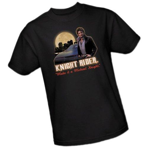 Knight Rider Make It A Michael Knight T-shirt - S to 3XL