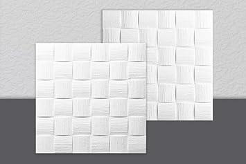 decosa dalle de plafond dublin blanc 50 x 50 cm fr bricolage
