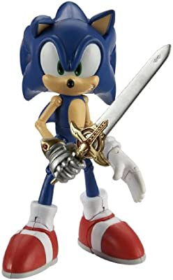 Amazon Com Sonic The Hedgehog Figure Sonic And The Black Knight Toys Games