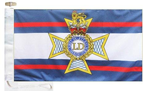British Army Light Dragoons Courtesy Boat Flag - 1 Yard  - R