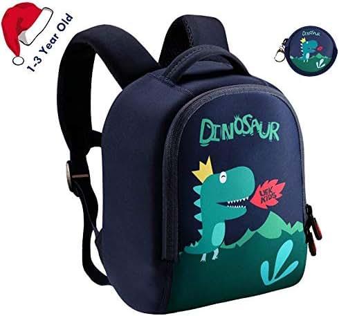 Lehoo Castle Dinosaur Backpack for Boy, Toddler Boy Backpack for 1-3 Years Old, Dino Backpack for Toddler, Dinosaur Bag for Boys(1-3 Years Old)