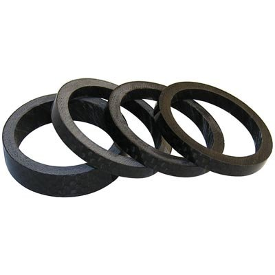 Wheels Manufacturing 1-Inch Carbon Spacer (Bag of 5), 5mm by Wheels Manufacturing