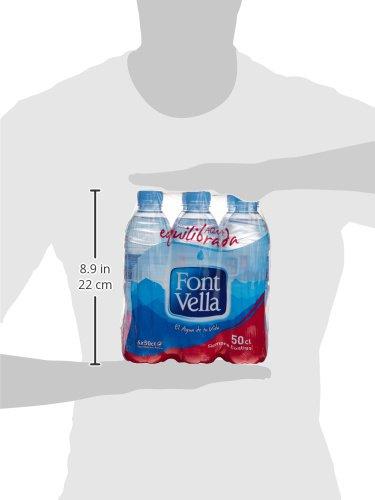 Font Vella Agua Mineral Natural - Pack 6 x 0,5 l: Amazon.es: Amazon Pantry