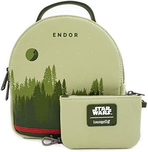 Loungefly x Star Wars Endor Convertible Backpack Set