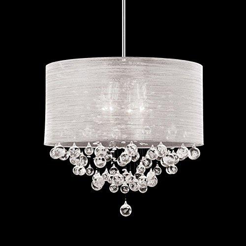 Round Crystal Ball Pendant Light