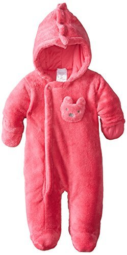 862120099831 Amazon.com   ABSORBA Baby-Girls Newborn G Dark Pink Fuzzy Plush ...