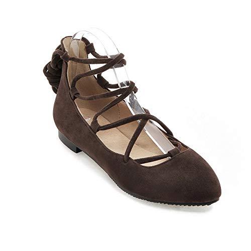Sandales AdeeSu Femme Gris SDC05808 Compensées pF5qRz5