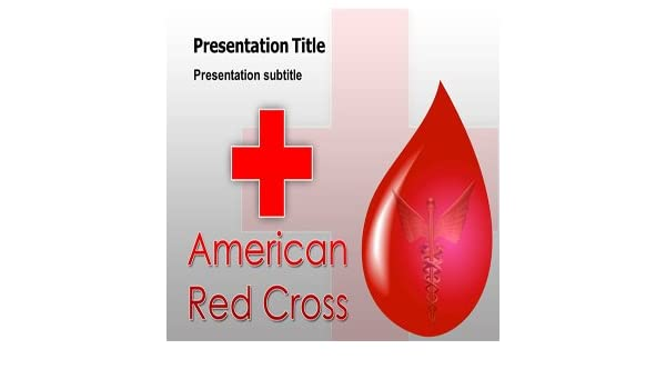 Amazon Red Cross Powerpoint Templates Red Cross Powerpoint