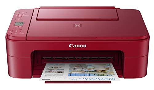 Canon Pixma TS3320 Red, Amazon Dash Replenishment enabled