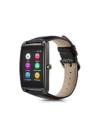 """1.6"""" visualización táctil Smartwatch para Android y iOS, Gris plomizo"""