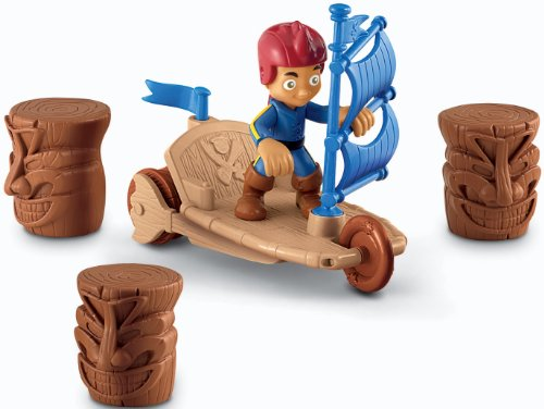 Fisher-Price Disney's Jake and The Never Land Pirates: Jake's Sailwagon (Peter Pan Jake And The Neverland Pirates)