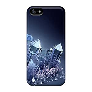 New Style Case Cover ECVrZ3850Bgduz Crystals Compatible With Iphone 5/5s Protection Case