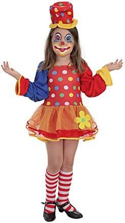 LLOPIS - Disfraz Infantil Payaso pepona TL (10/12 años): Amazon.es ...
