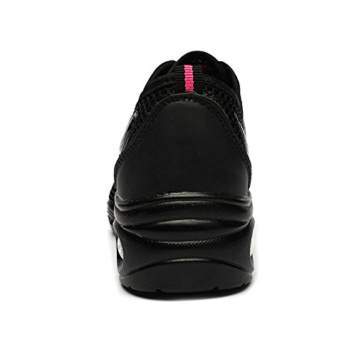 del Modernos Las de Jazz Danza Zapatillas La Modelo de Negro Zapatos Las Para HIPPOSEUS La Deporte EST11 Elegantes de Mujeres Danza Zapatos Señoras de Xq5W8H