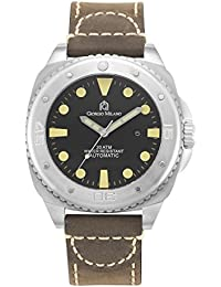 952ST033 Explorer Stainless Steel Automatic Diver Sports Watch w/Extra Strap