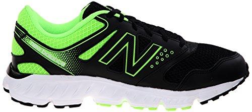 New Balance Heren M675v2 Hardloopschoen Zwart / Groen