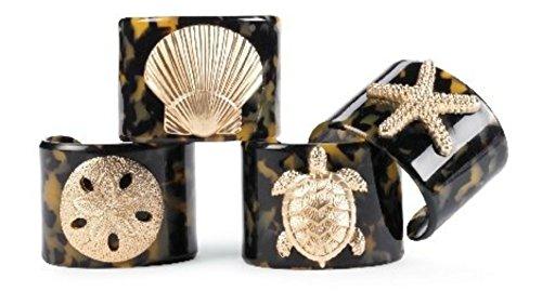 Mud Pie Sealife Tortoise Bracelet