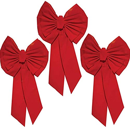 Rocky Mountain Goods Red Christmas Bow Extra Large 35