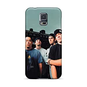 Samsung Galaxy S5 KVP220Cfif Support Personal Customs Vivid Linkin Park Band Skin Shock-Absorbing Hard Cell-phone Case -Marycase88