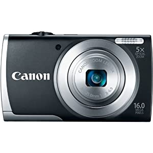 PowerShot A2500 16.0 MP Digital Camera with 5x Optical Zoom and 720p HD Video Recording