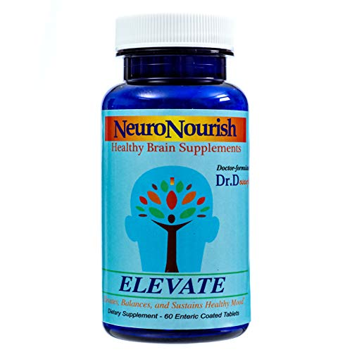 NeuroNourish Elevate SAM e Doctor Formulated Natural Supplements for Brain, Body, Joints & Mood Boost by Dr. D: 400mg, 60 Enteric Coated Tablets