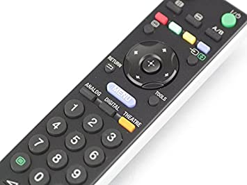 Sony Bravia RM-ED009 Genuine TV Remote Control, RMED009, Fits Many Sony Models by Sony: Amazon.es: Electrónica