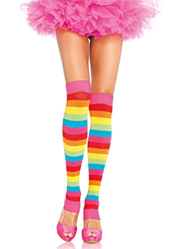 Leg Avenue Womens Rainbow Warmers product image