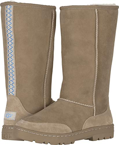 UGG Women's W Ultra Tall Revival Fashion Boot, Sand, 6 M US