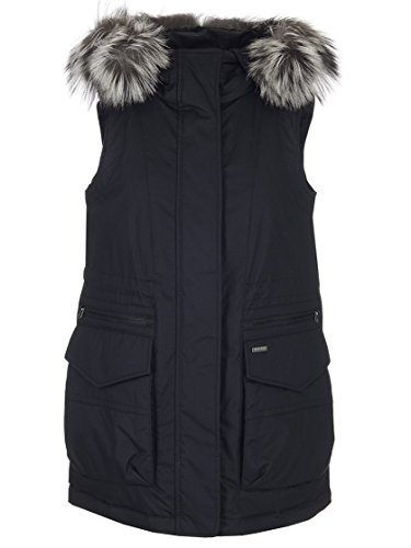 Military Woolrich Wwgil0040 Donna Nero Gilet lm10 HIgr1OIqS