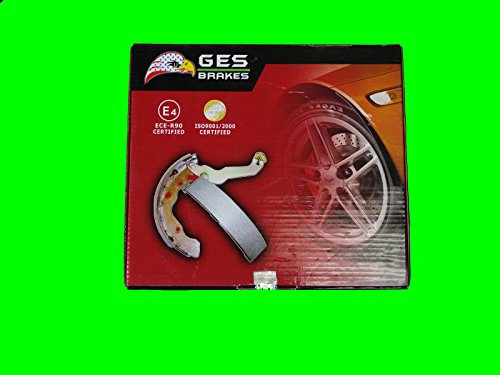 Premium Quality Rear Drum Brake Shoes 99-03 Honda Odyssey 744 by GES PARTS (Image #3)