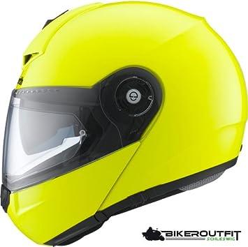 SCHUBERTH C3 Pro Fluo Amarillo – Casco moto casco casco talla XL (60/61