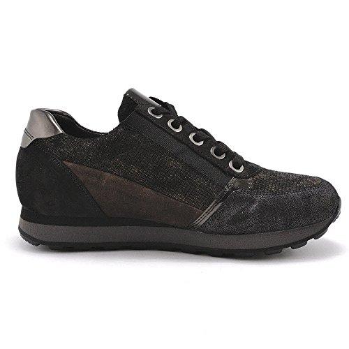 s cordones nougatk mujer Zapatos para de York Gabor schw S FCwHq