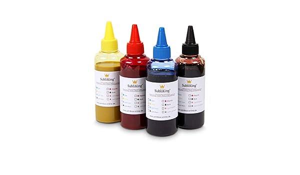 100 ml de tinta para sublimación Impresión textil | Transfer ...