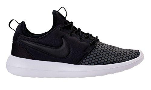 Uomo Nike Roshe Due (se) Scarpe Da Ginnastica Nero / Nero-bianco-grigio Scuro 918.245.001 (13)