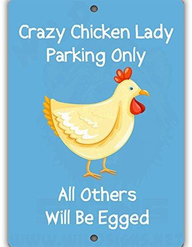Chicken Parking Indoor Outdoor Aluminum product image