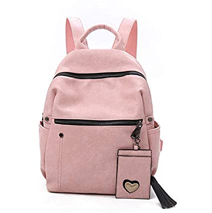 68e8d15fedf2 Amazon.com : LFF.FF Women's Backpack, Anti-Theft Shoulder Bag ...