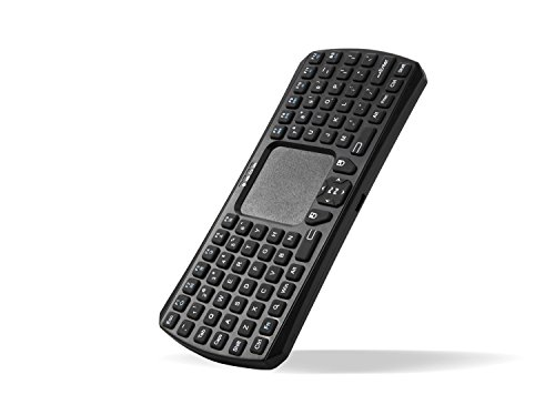 Lollipop Mini Bluetooth 3.0 Keyboard Wireless Handheld Remote Control Touchpad Keyboard for Laptop, Tablet, PS4, Google Android TV Box, HTPC, IPTV and More