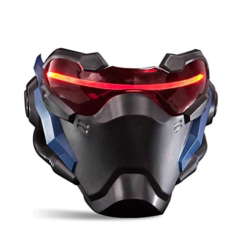 Overwatch Mask Cosplay Mask (Soilder 76)]()