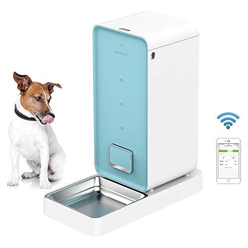 Ydq Pet Feeder Futterautomat, Automatischer Futterspender/Fressnapf Mit App Steuerung & Timer Bis Zu 4 Mahlzeiten Pro…