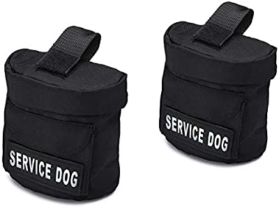 Industrial Puppy Removable Dog Backpack with 2 Reflective Velcro Patches, by